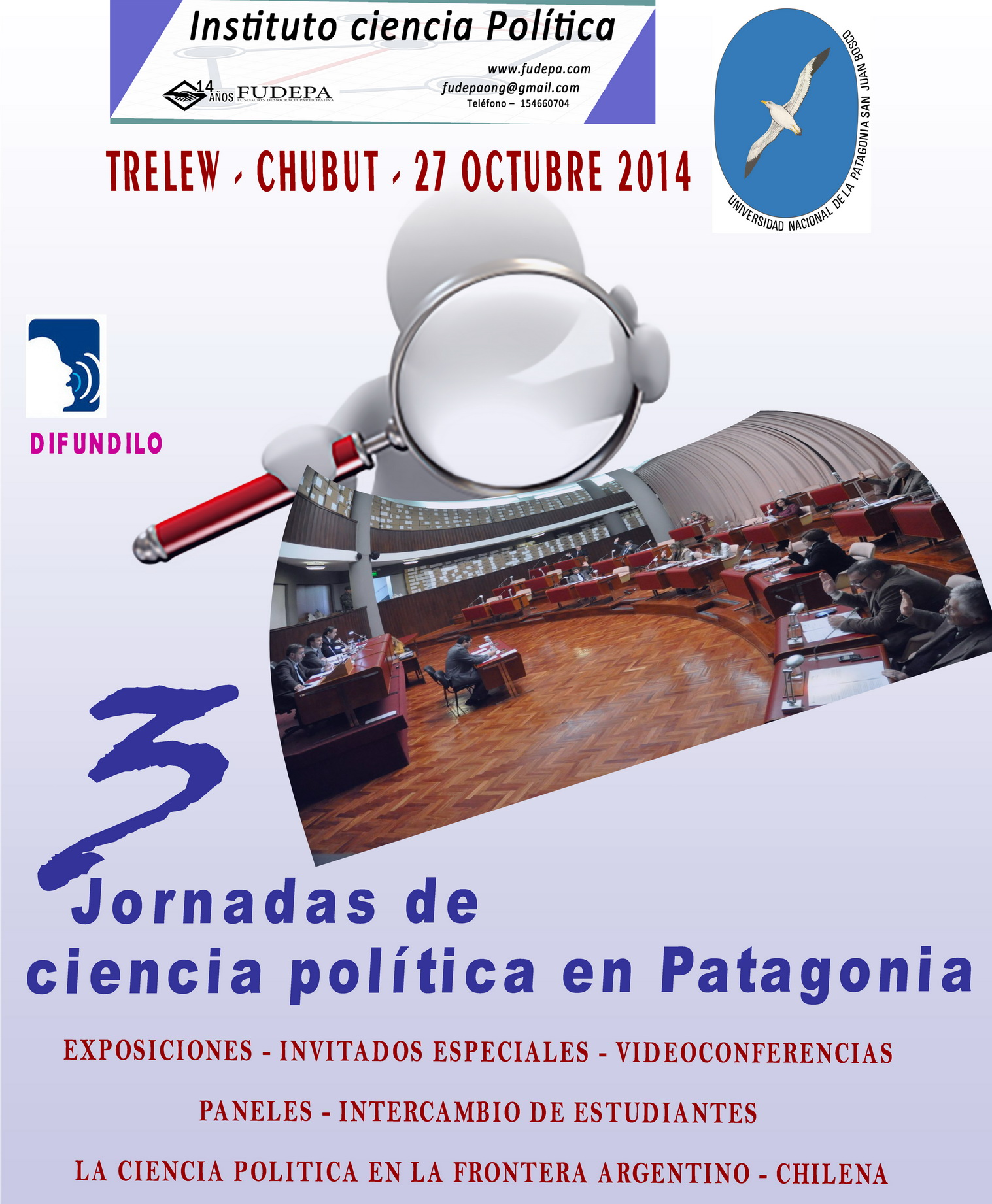 afiche 3 jornadas ciencia politica