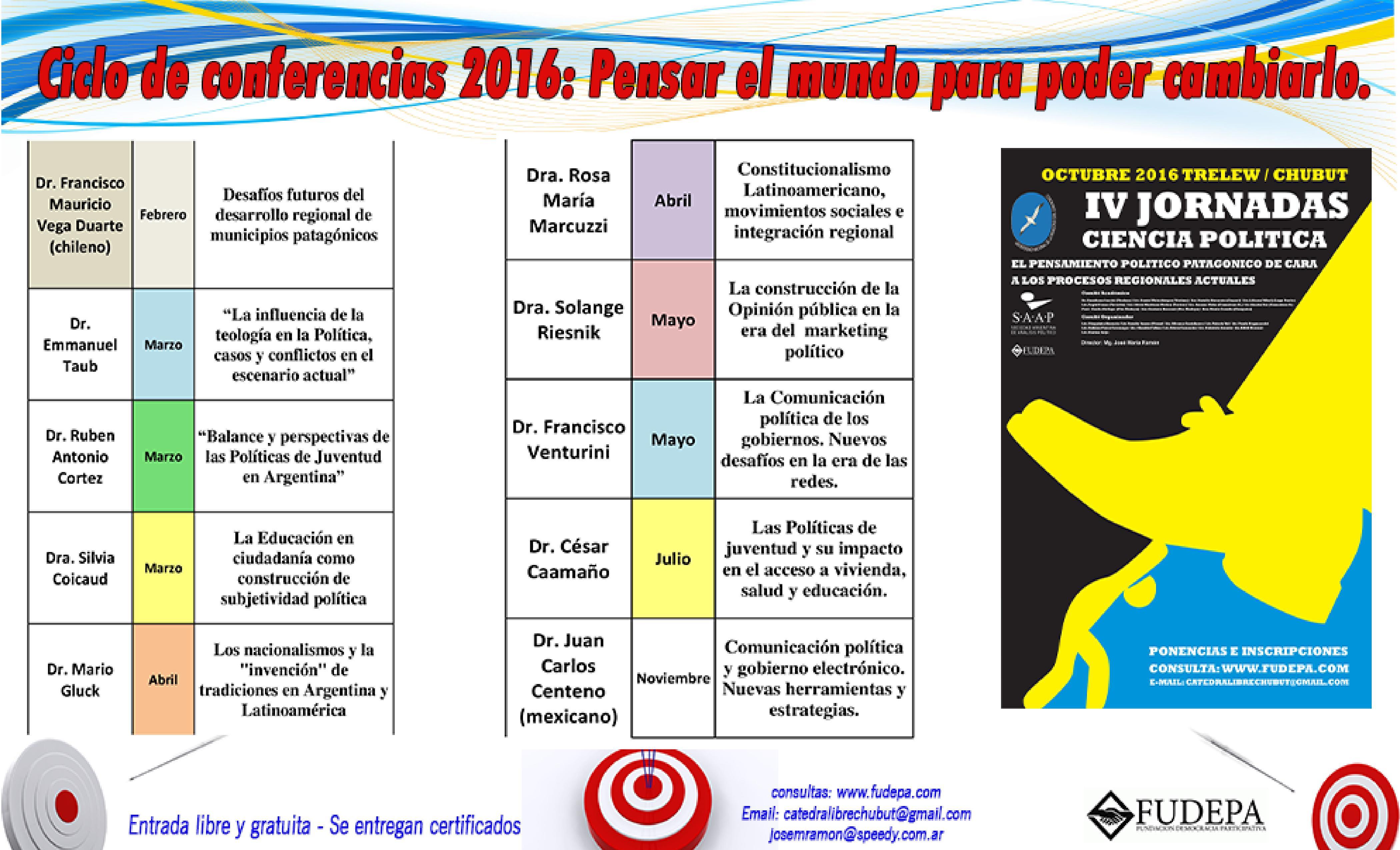 folleto anual catedra libre